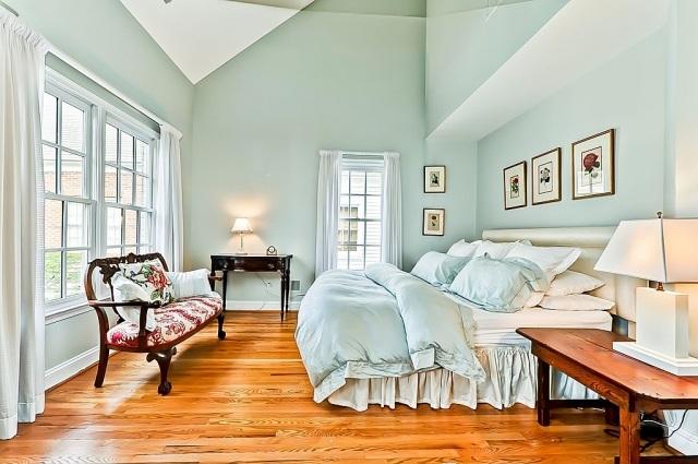 Paleta de colores para el dormitorio es hora de un cambio - Dormitorio verde ...