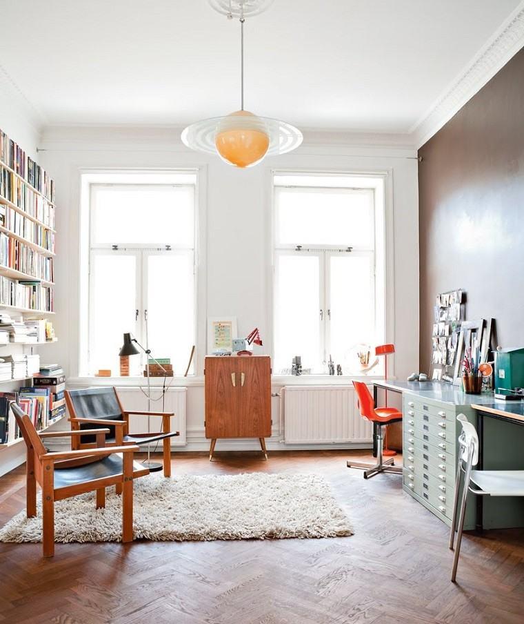zona trabajo diseño estilo escandinavo