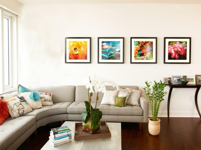 Cuadros para comedor contemporaneos: decoración de interiores ...
