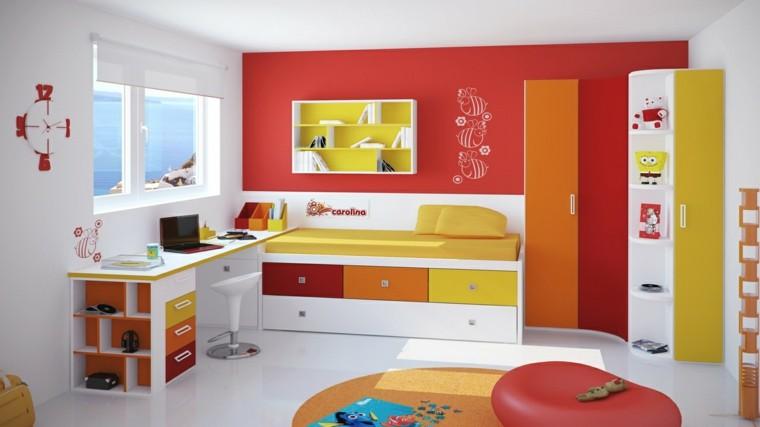 abejas dibujadas pared dormitorio chica adolescente ideas