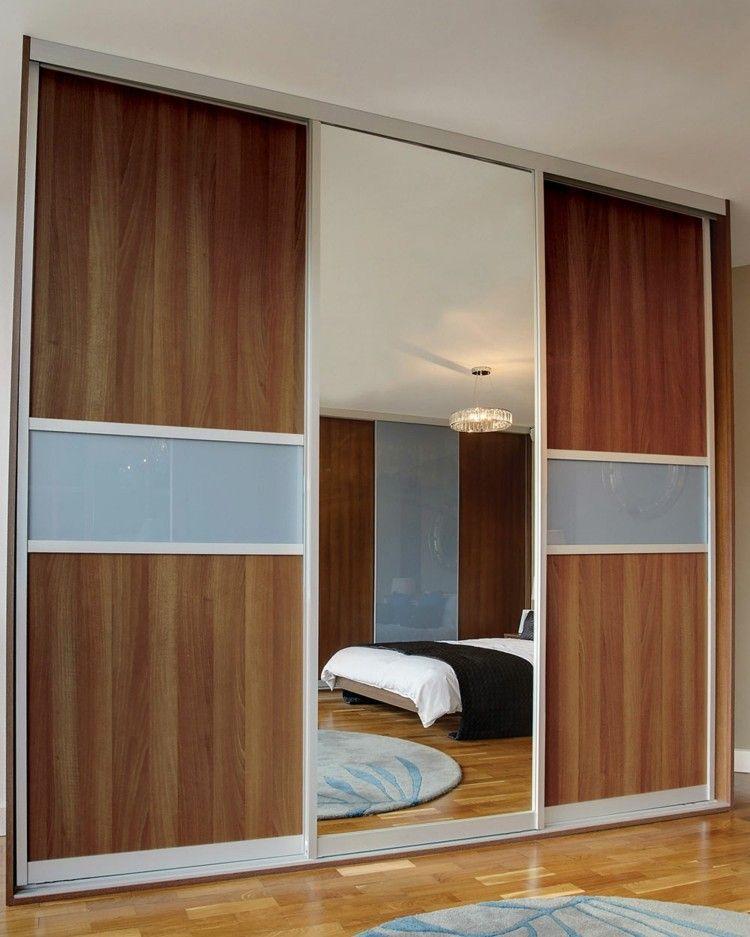 acceso habitacion cama madera diseño