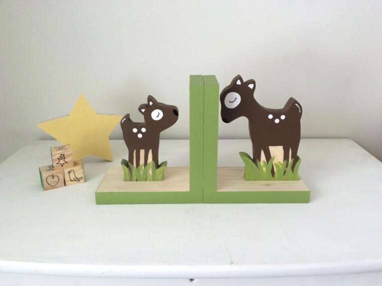 accesorio venados- juegos verde estrella