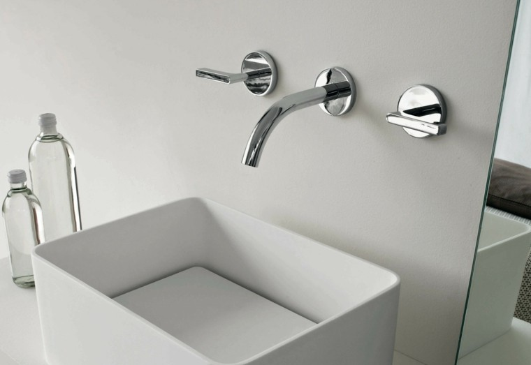 accesorios baño lavabo diseño moderno