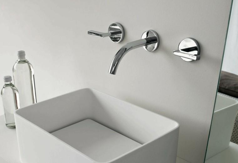 Accesorios Baño Minimalista:accesorios baño lavabo diseño moderno