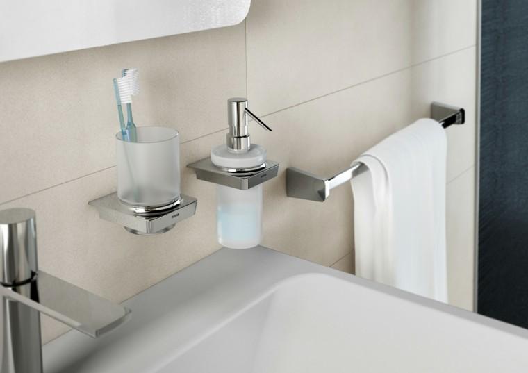 Accesorios de ba o y muebles de dise o moderno for Conjunto de accesorios para bano