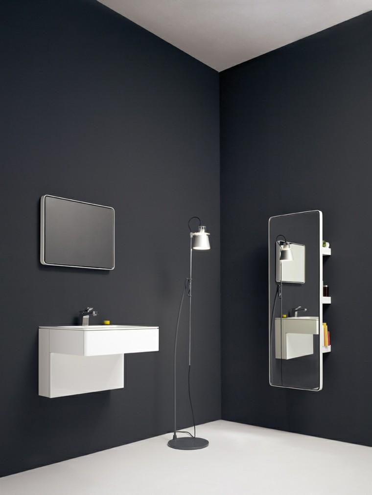 accesorios decorativos baño negro
