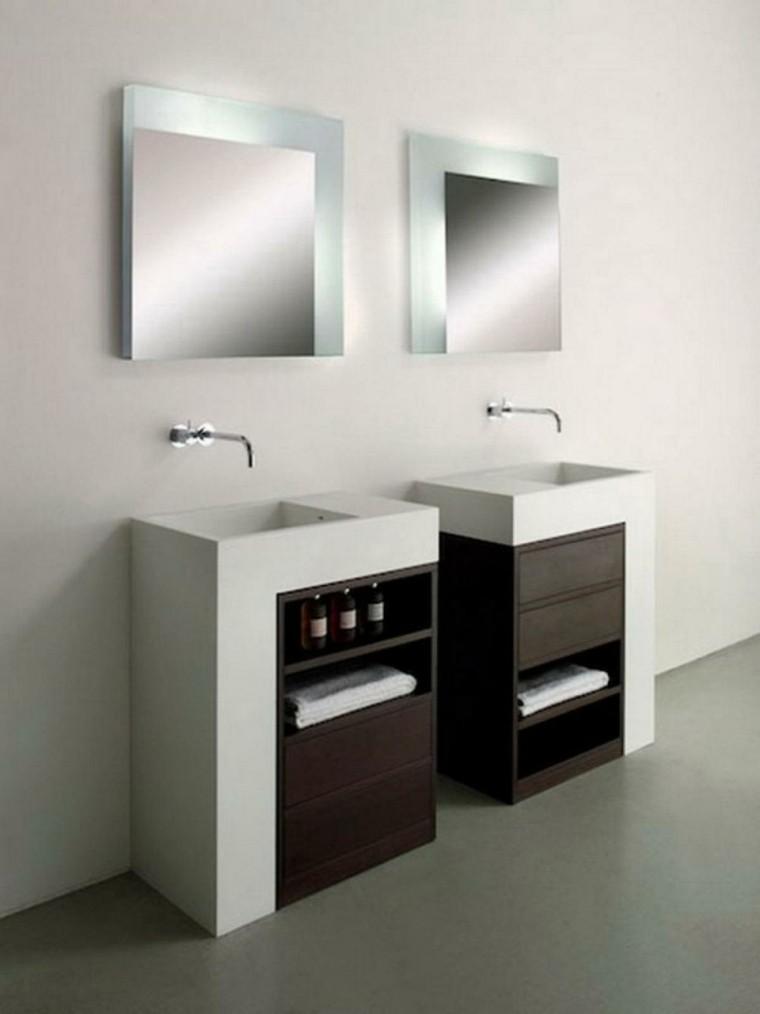 accesorios para lavabos estilo minimalista