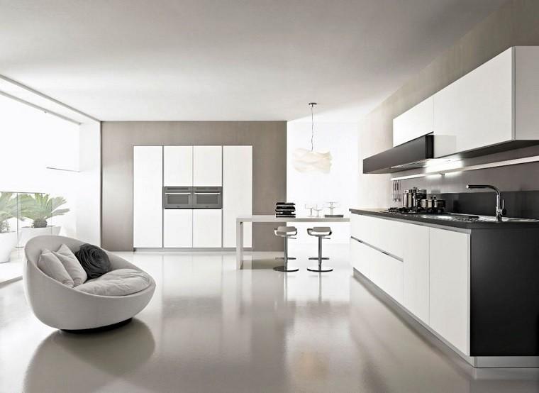 alargada cocina opcion moderna sofa