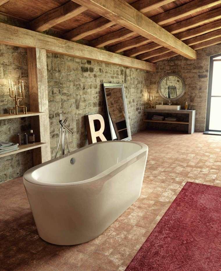 Baño rustico decoracion: ideas para decorar baños rústicos hoy ...