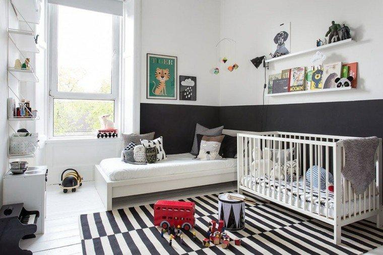 alfombras diseño moderno bebe habitacion juguetes