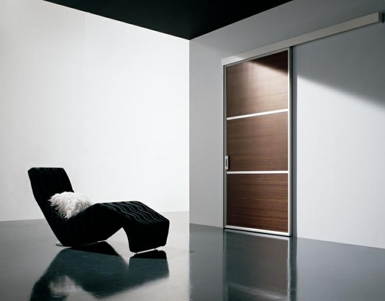 Puerta corredera   50 modelos para un espacio funcional.
