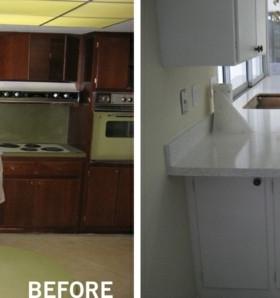 Barbacoas y muebles de cocina para el jardín - 34 ideas -