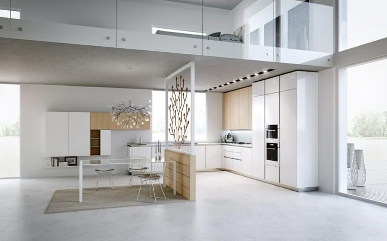 Dise o de cocinas modernas 100 ejemplos geniales for Cocinas de apartamentos modernos