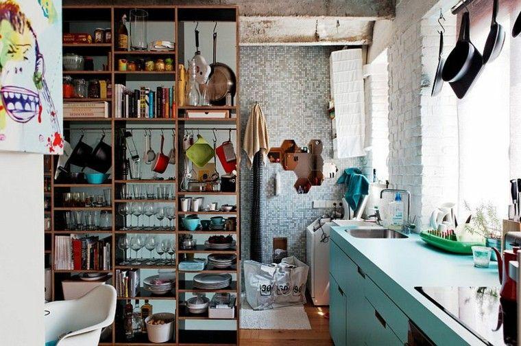 Dise o industrial cocinas modernas y originales for Cocinas originales pequenas