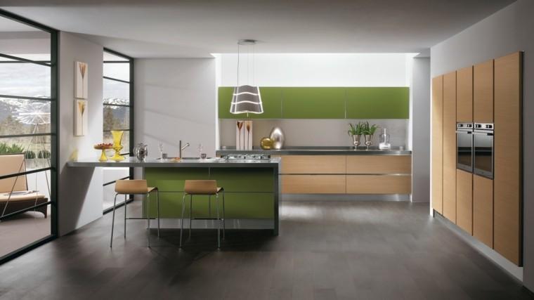 Decoración de interiores cocinas modernas con estilo -