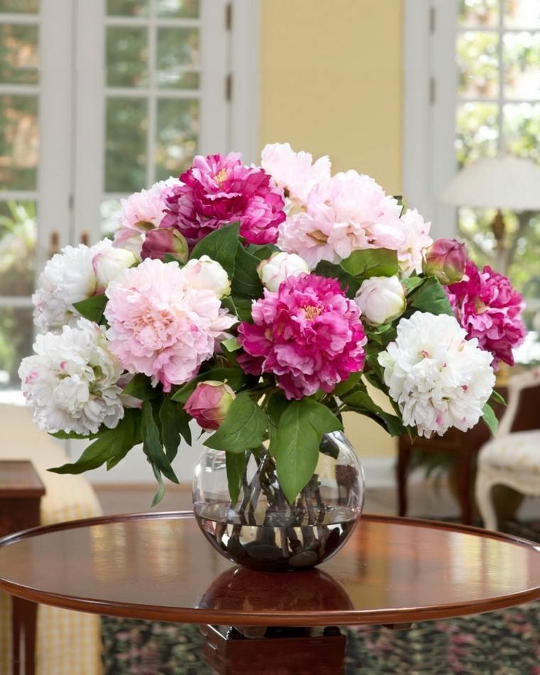 ideas para decorar tu hogar con ramos de flores y arreglos