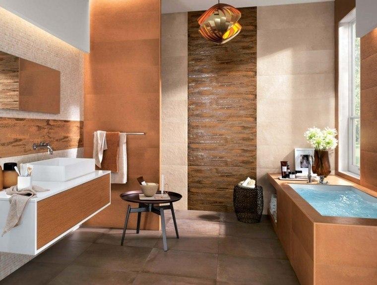Azulejos para baños modernos   cien ideas geniales