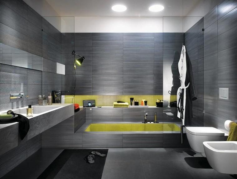 Azulejos Para Baño Color Gris ~ Dikidu.com