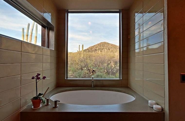 Baños Modernos Rectangulares:Diseño de baños modernos – 60 ideas fantásticas