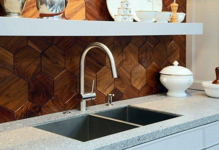 azulejos cocina madera textura figuras
