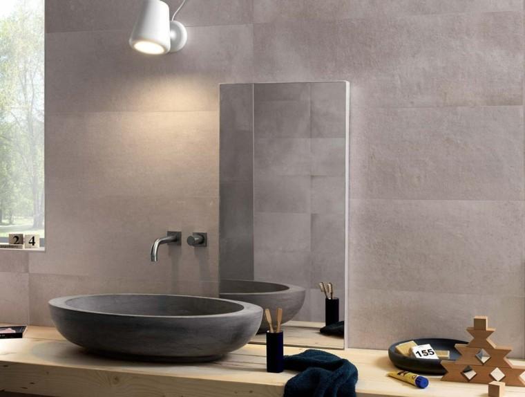 Azulejos para ba os modernos cien ideas geniales for Azulejos para lavabos