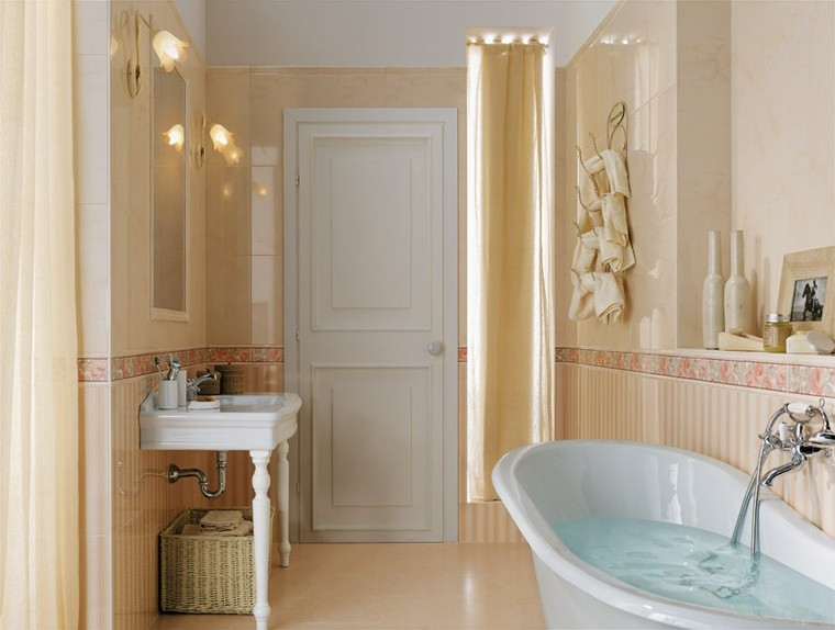 Azulejos para baños modernos - cien ideas geniales