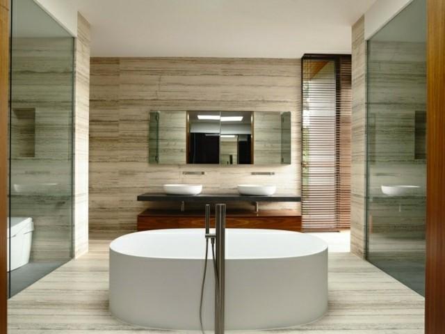 Casas modernas 50 ideas para decorar interiores for Banos de casas modernas
