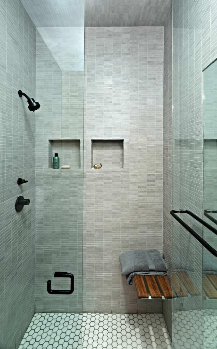 baño estilo moderno color paloma