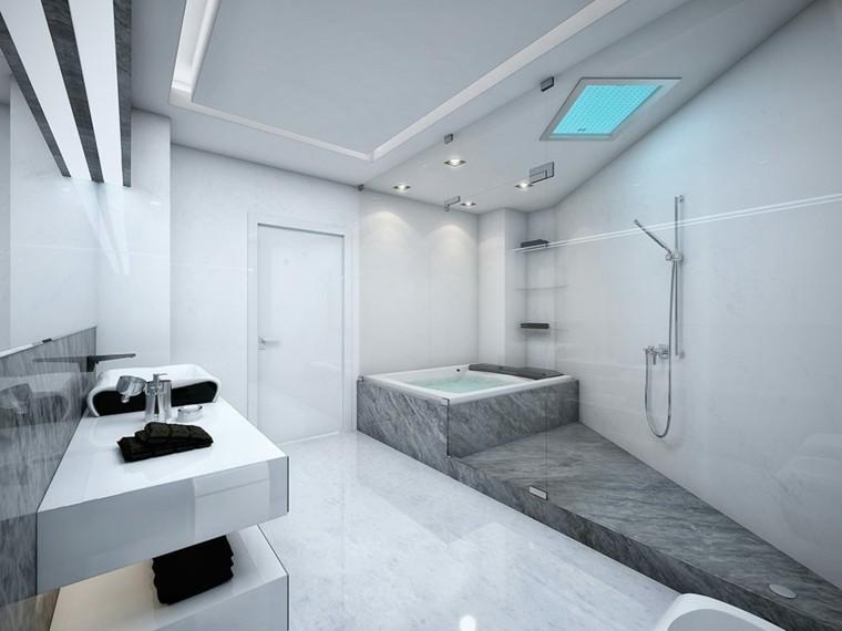 baño moderno diseño estilo futurista