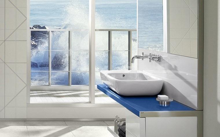 baño estilo moderno vistas mar