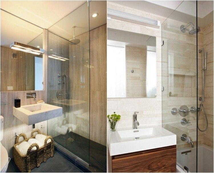 baños pequeños diseño foto collage