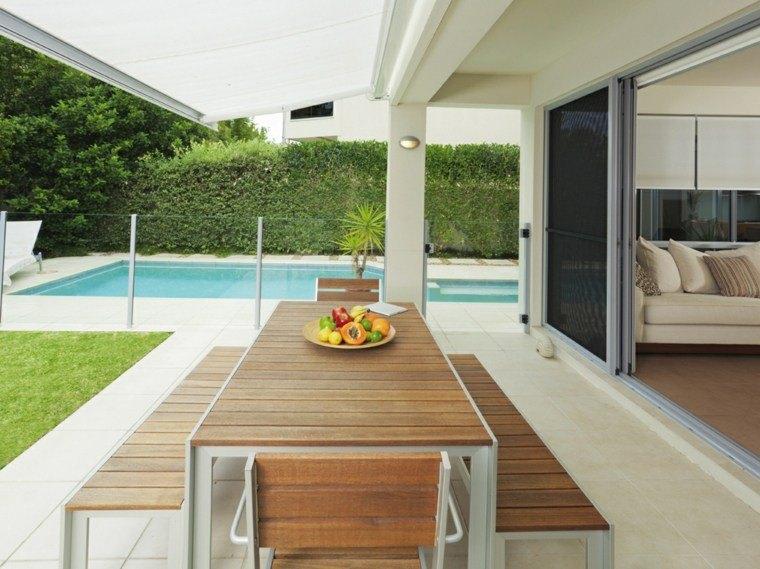 Baldosas para el jard n moderno 50 ideas preciosas for Jardines interiores pequenos minimalistas