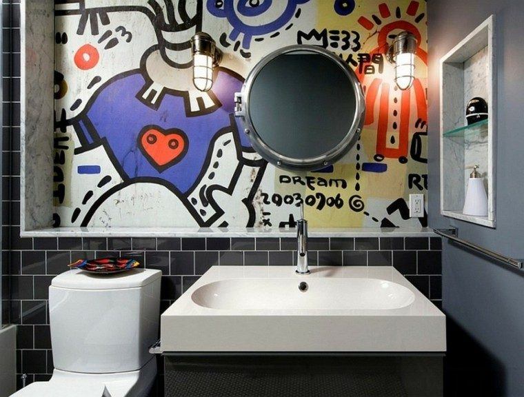 Graffiti ideas de arte para las paredes de casa -