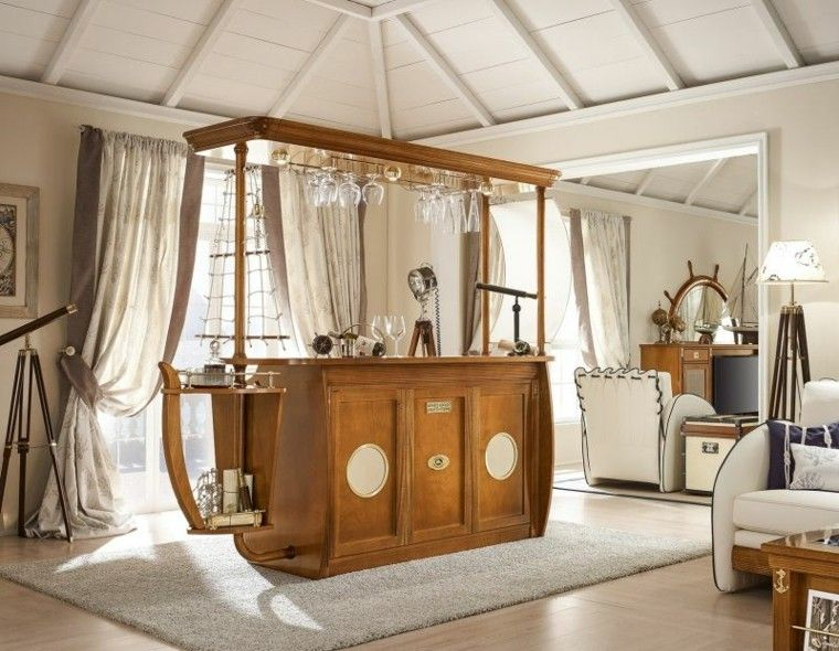 El mar inspira estas ideas de muebles de casa for Muebles decoracion casa