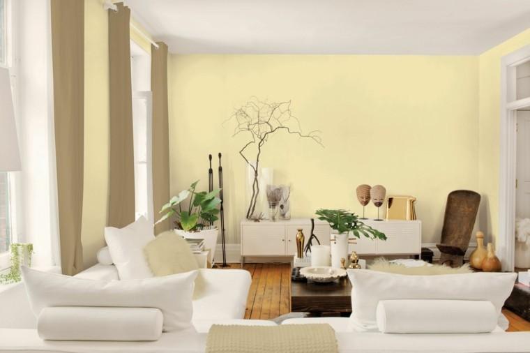 pinturas beige blanco bonito salon