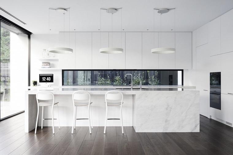 blanco espacios elegantes salones