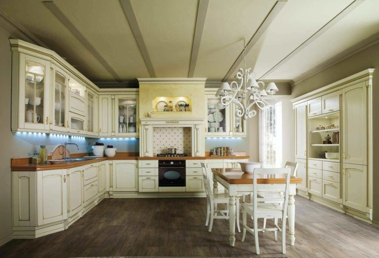 Cocinas estilo campestre m s de 50 ideas motivantes a for Casas decoradas por dentro