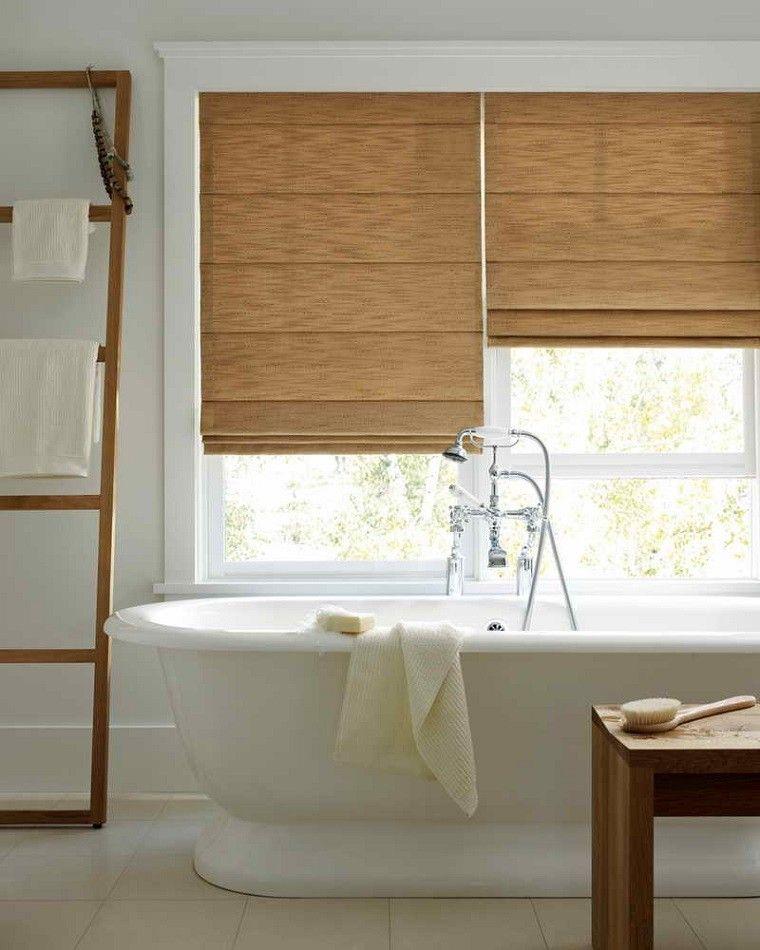 Dise o de ba os modernos 60 ideas fant sticas for Bano blanco y madera