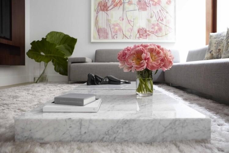 bloque marmol mesa figura salon