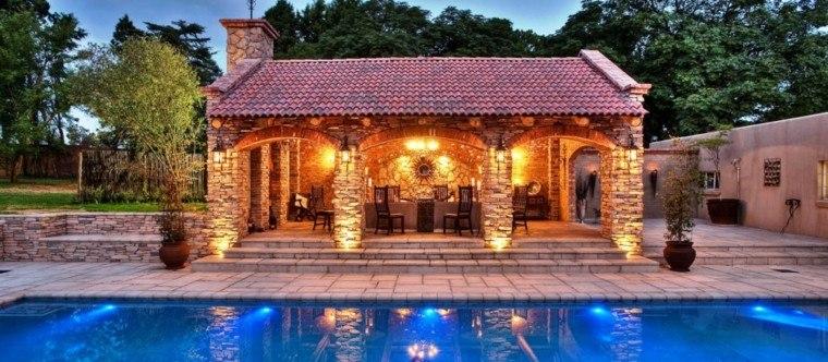 Mirador con piscina setenta y cinco estupendas ideas - Casetas de obra para jardin ...