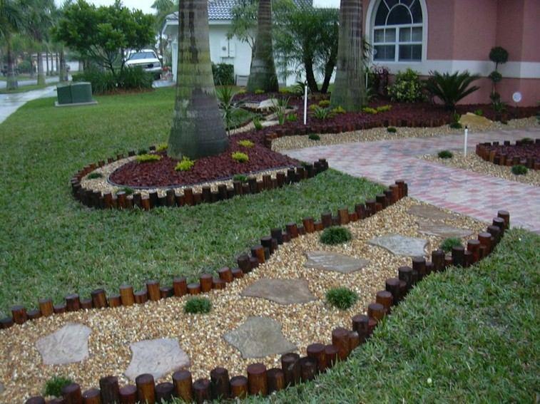 Decoradores De Jardines Tumbonas De Madera En Pisicinas De