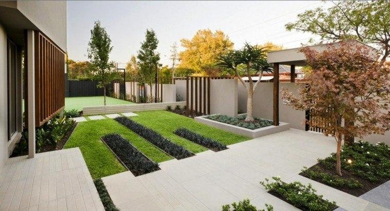 bonito diseño jardin estilo moderno paisajismo