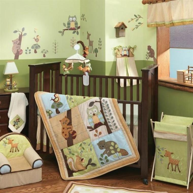 Dormitorios Infantiles Dise 241 O Creativo Con Tem 225 Tica Bosque