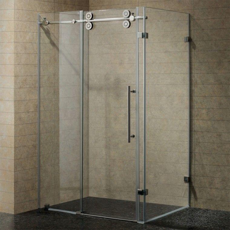 cabina ducha azulejos color beige