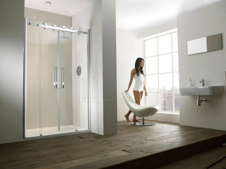 cabina ducha cuarto baño moderno
