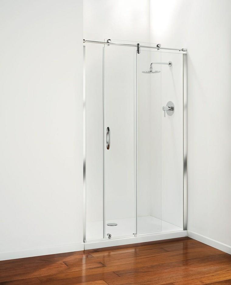 cabina ducha estilo minimalista cristal