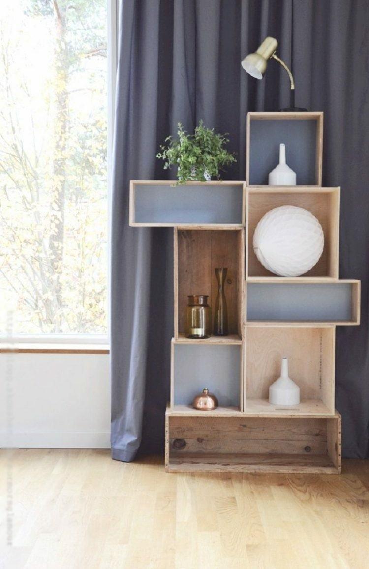 cajones madera mueble estanterias decoracion de casas