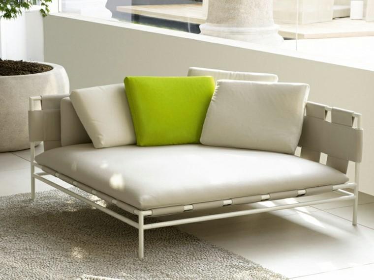 canapés sofas formas interesantes jardin ideas