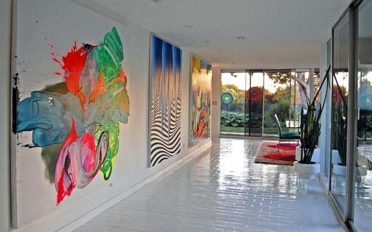 casa estilo diseno contemporaneo pared ideas