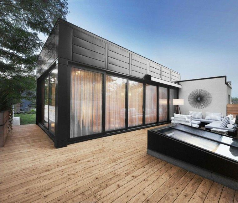 casa madera suelo decoracion moderno